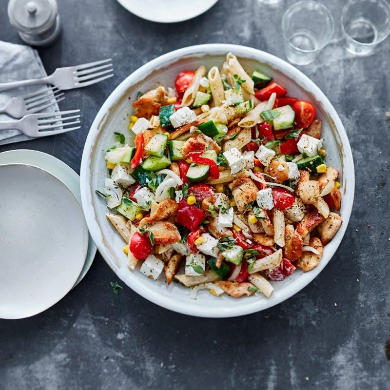 Photo de Salade gourmande saveur gyros prise par WW