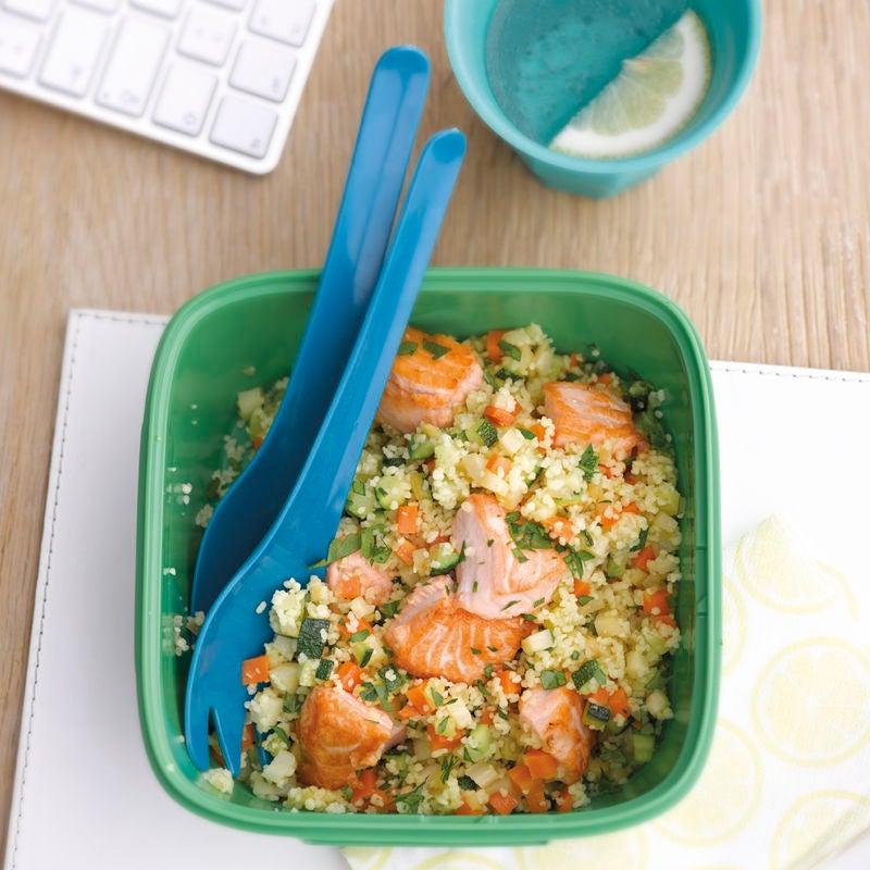 Photo de Couscous de légumes au saumon prise par WW