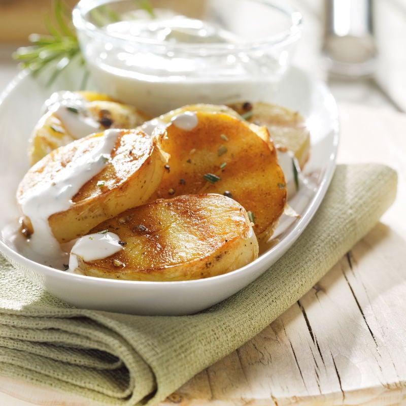 Foto Grillkartoffeln mit Rosmarindressing von WW