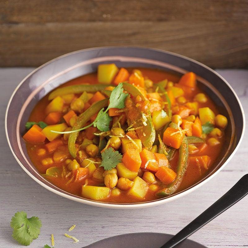Foto Kichererbsen-Kartoffel-Curry von WW