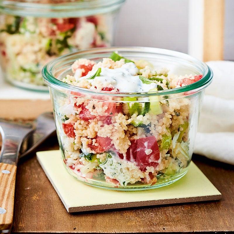 Photo de Salade de couscous et de tomates à la menthe prise par WW