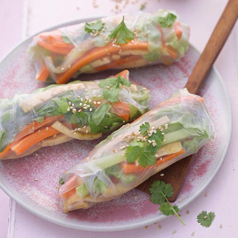 Photo de Rouleaux d'été au tofu prise par WW