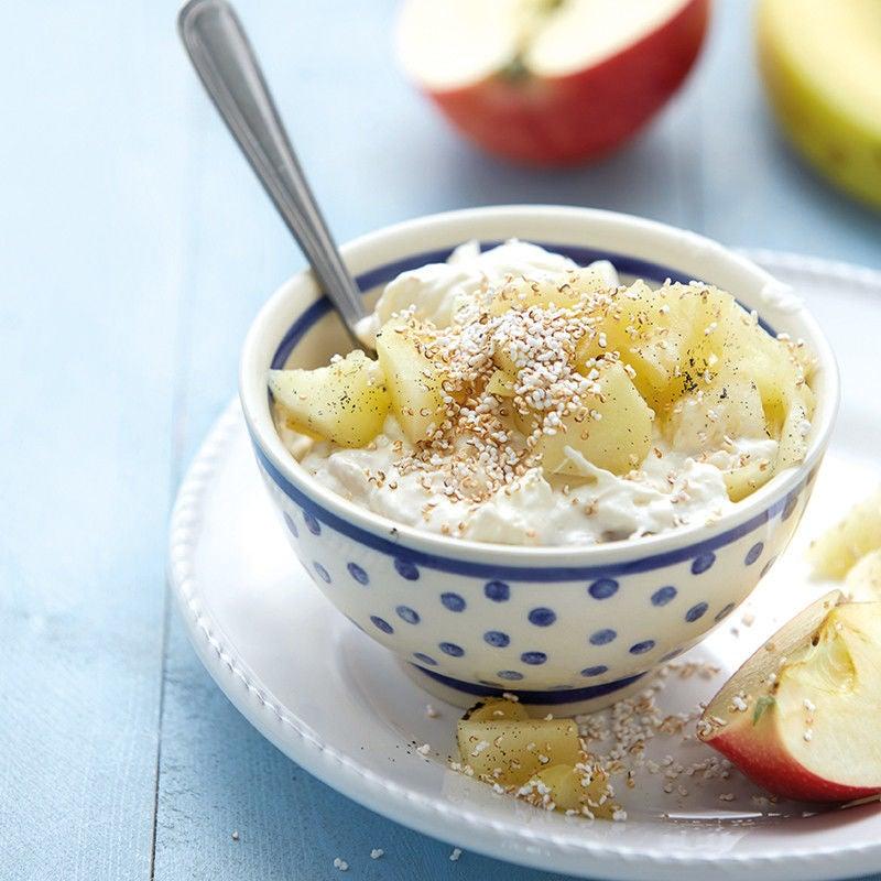 Foto Bananenjoghurt mit gepufftem Amaranth von WW