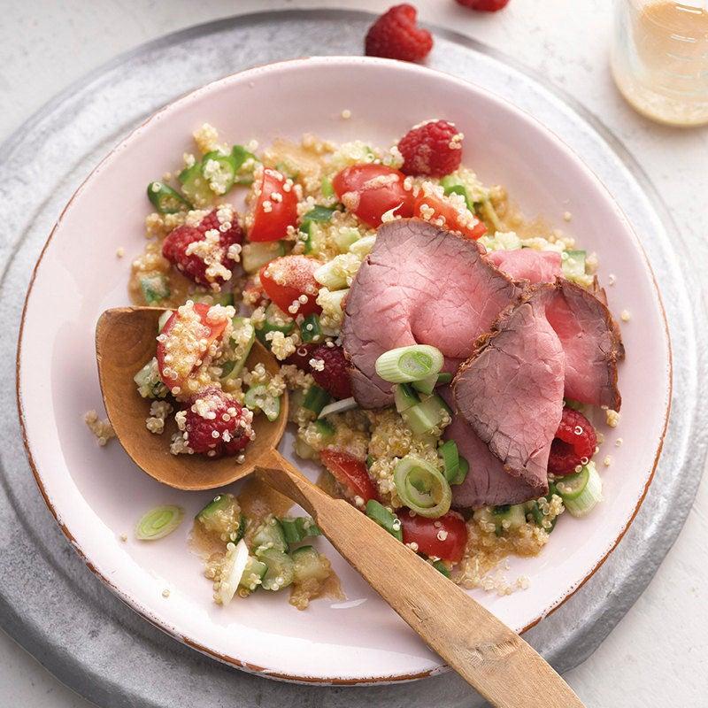 Photo de Salade de quinoa et roastbeef prise par WW