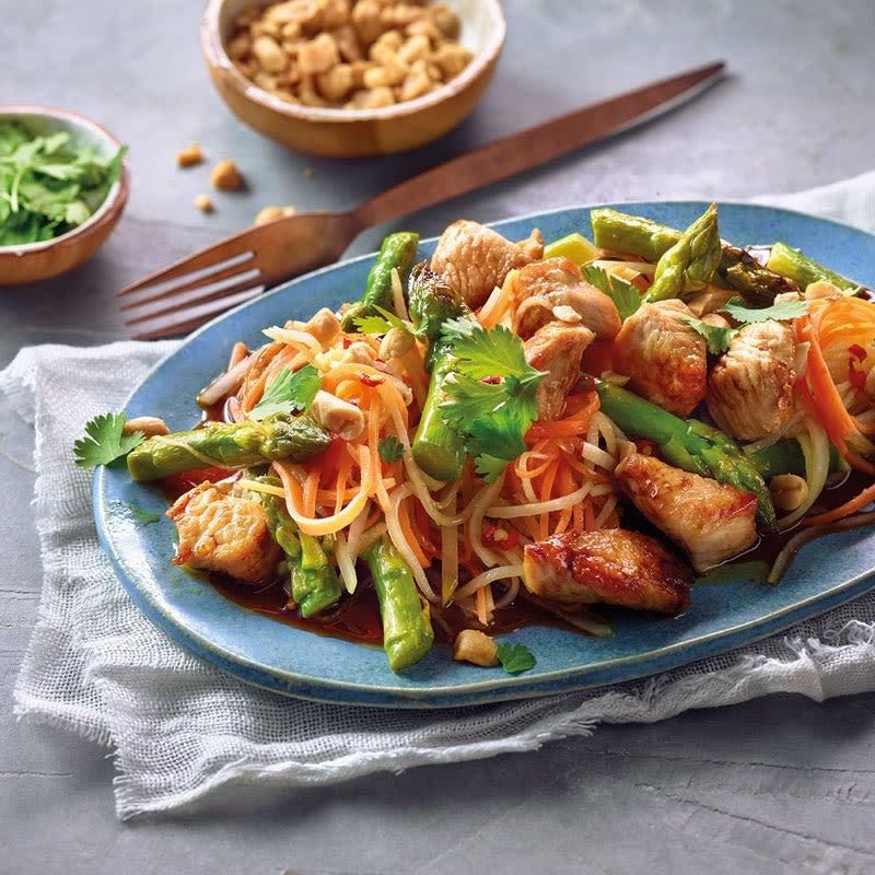 Photo de Salade de chou-rave épicée à la dinde prise par WW