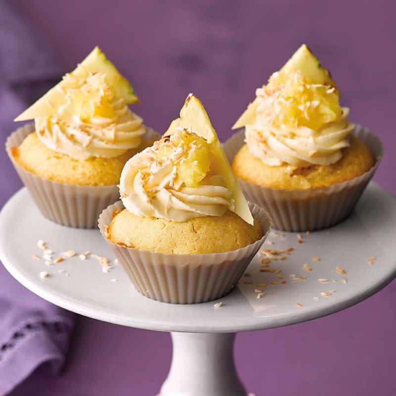 Foto Kokos-Ananas-Cupcakes von WW