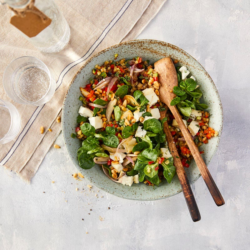 Photo de Salade façon ratatouille aux pignons prise par WW