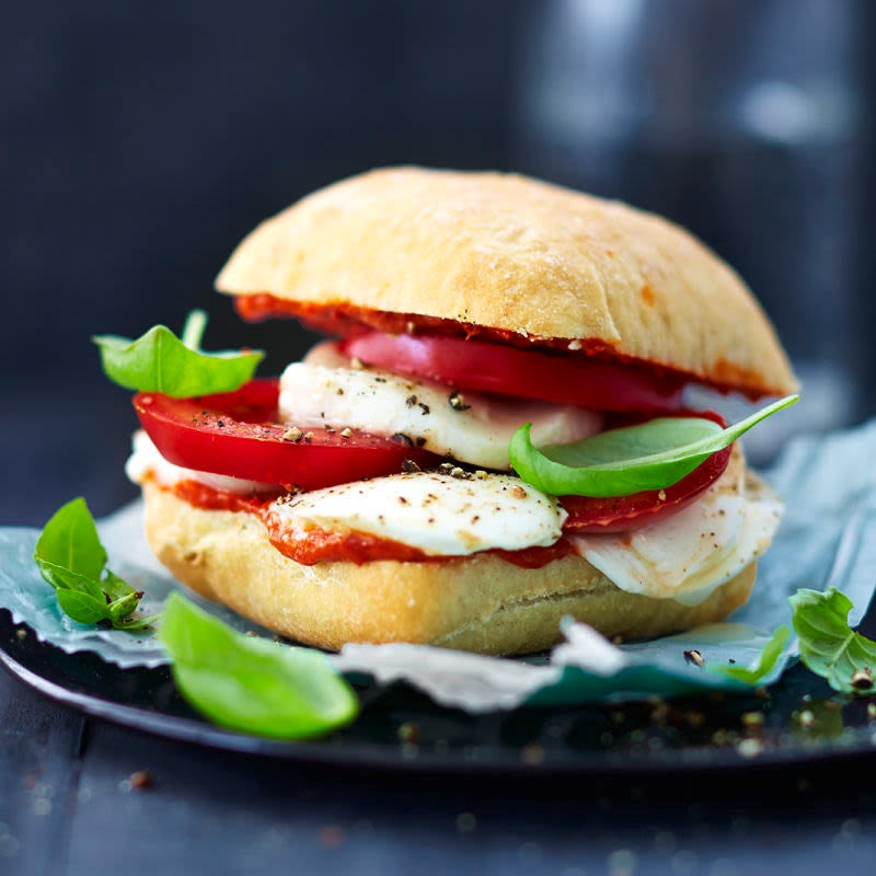Photo de Petit pain tomate-mozzarella prise par WW