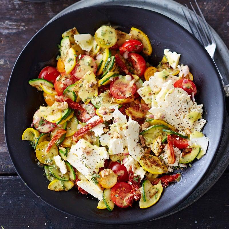Photo de Salade de courgettes à l'huile de noix prise par WW