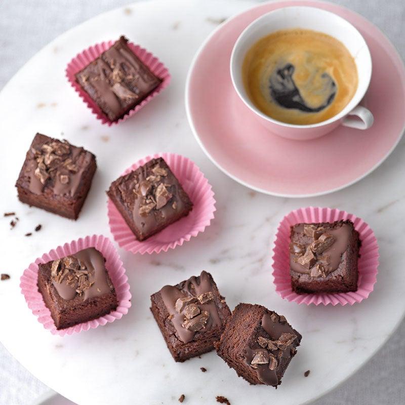 Foto Kaffee-Brownie-Happen von WW