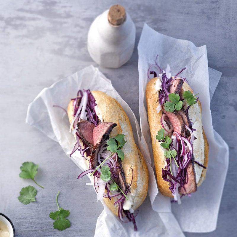 Photo de Sandwich vietnamien (banh mi) prise par WW
