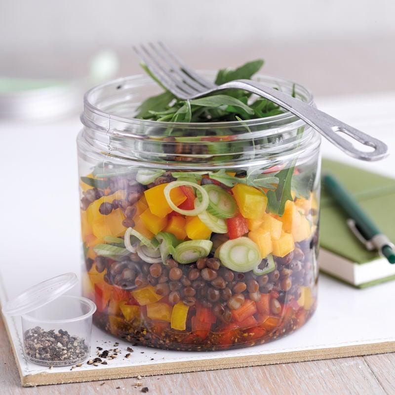 Photo de Salade de lentilles à la mangue et roquette prise par WW