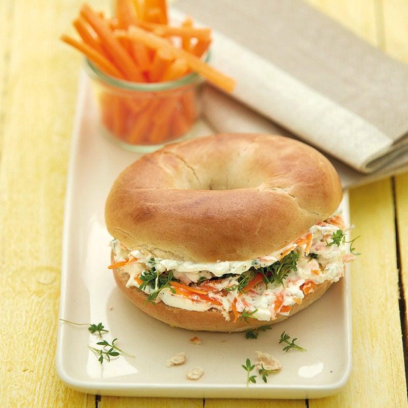 Photo de Bagel aux carottes prise par WW