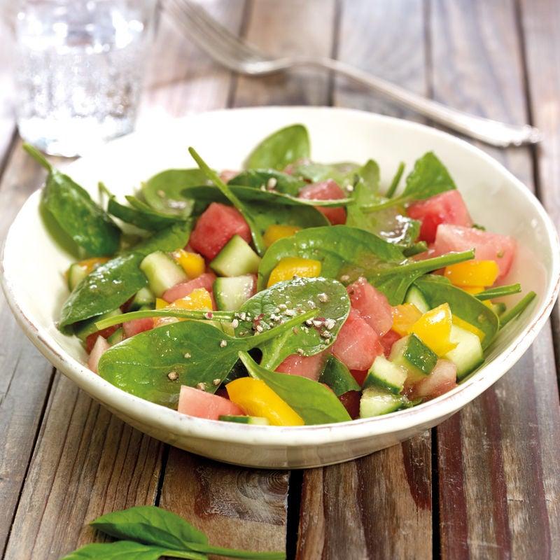 Photo de Salade d'épinards à la pastèque prise par WW