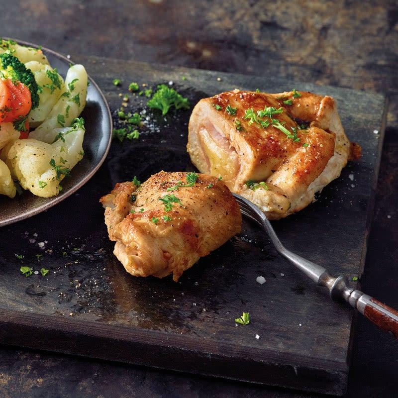 Photo de Cordon bleu de poulet et légumes prise par WW