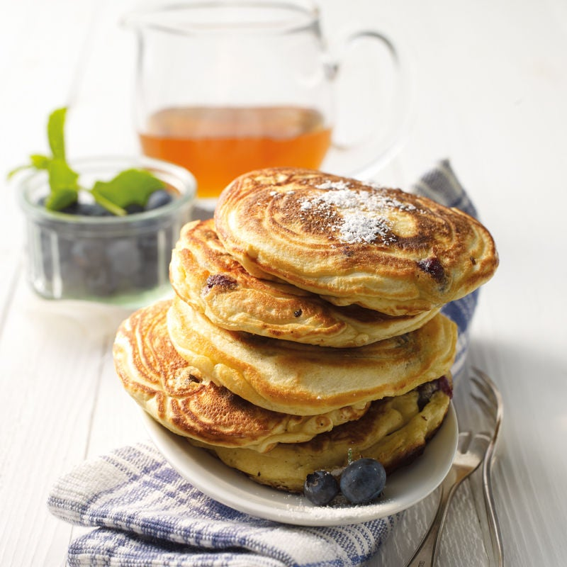Photo de Pancakes aux myrtilles prise par WW
