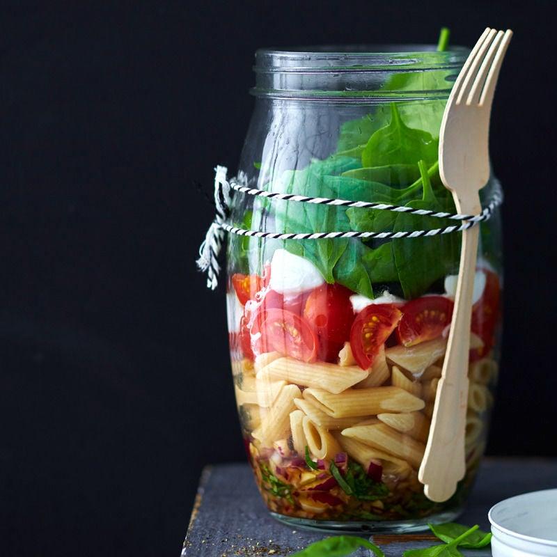 Photo de Salade de pâtes italienne en bocal prise par WW