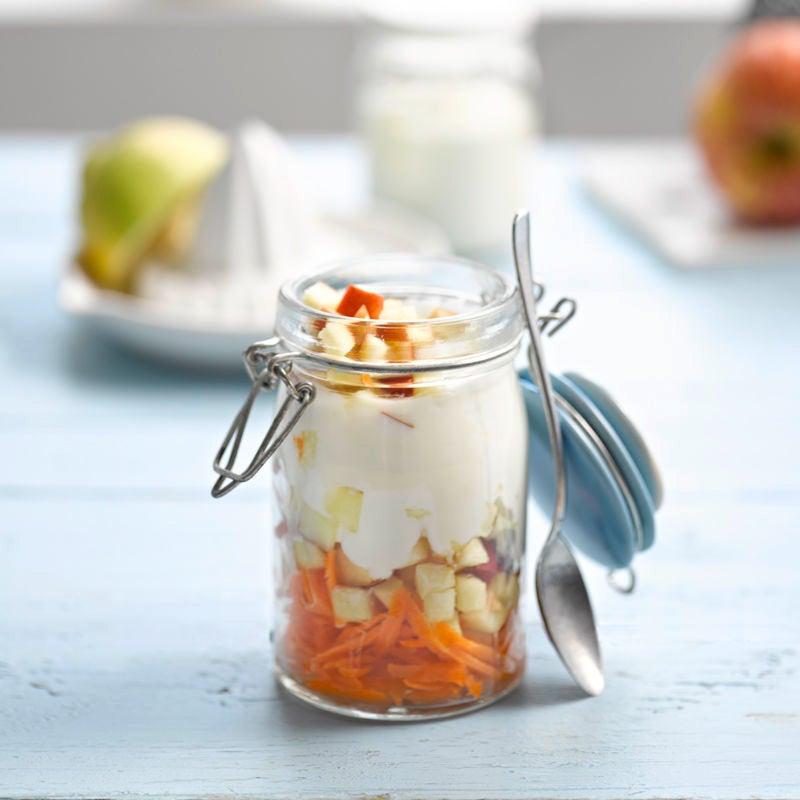 Foto Apfel-Karotten-Joghurt mit Zitronensaft von WW