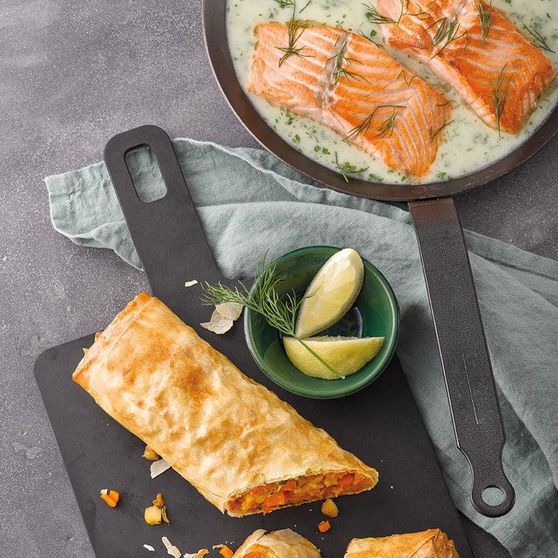 Photo de Saumon et strudel de légumes prise par WW