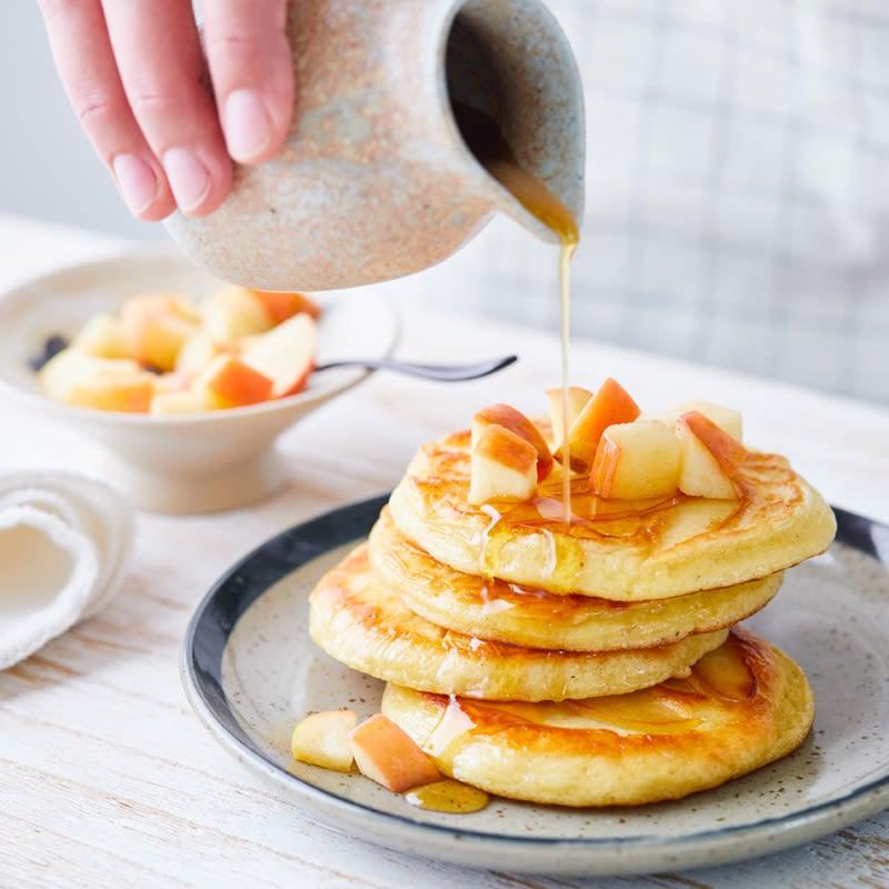 Photo de Pancakes à la pomme prise par WW