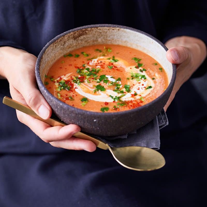 Foto Linsen-Tomaten-Suppe von WW