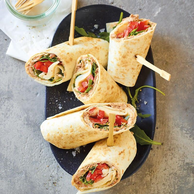 Photo de Mini-tortillas saveur méditerranéenne prise par WW