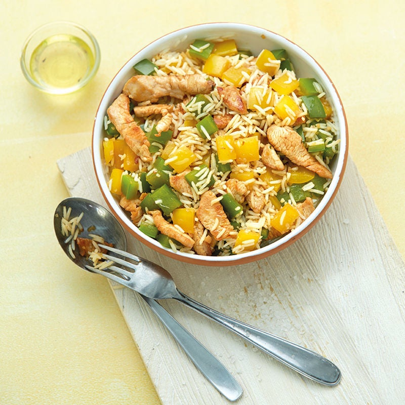 Photo de Salade de riz à la dinde prise par WW