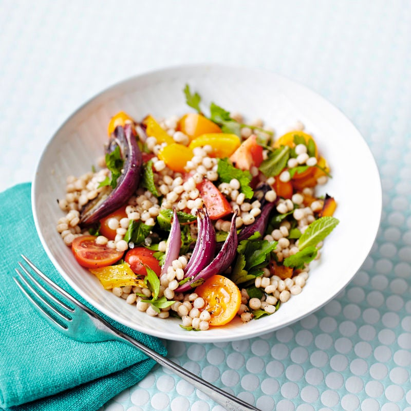 Photo de Salade de couscous multicolore prise par WW