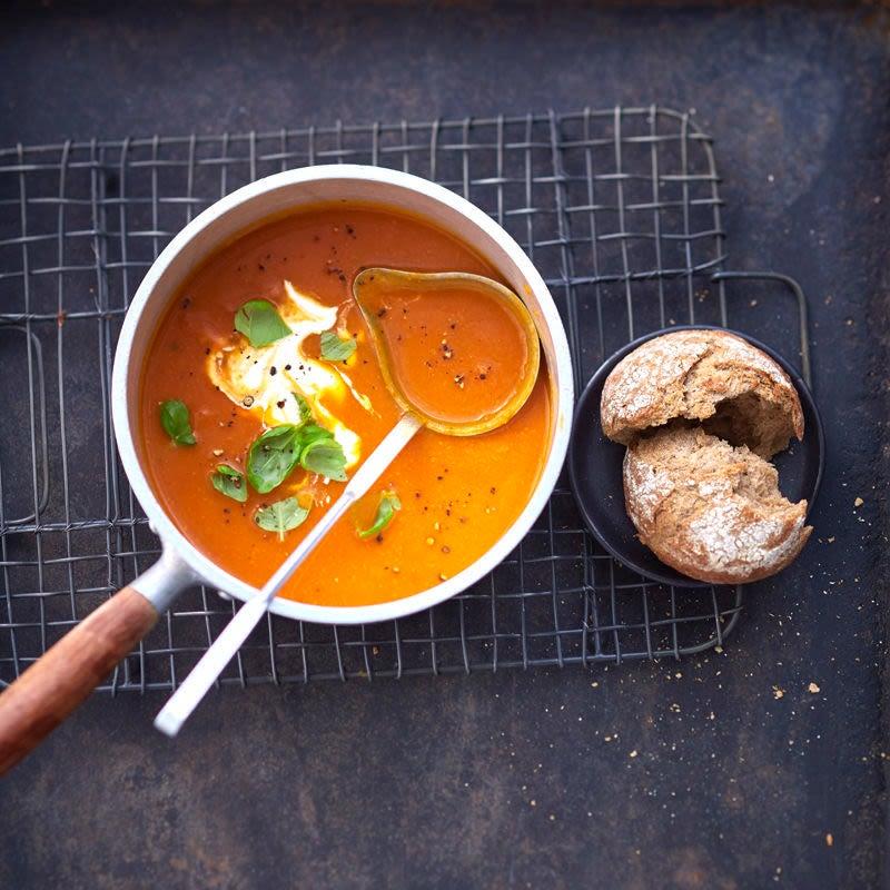 Photo de Soupe à la tomate et au potimarron prise par WW