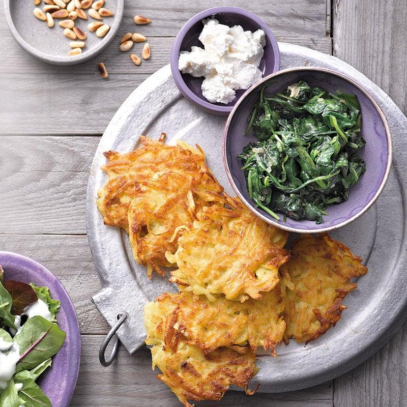 Foto Kartoffelrösti mit Spinat-Ricotta-Topping von WW