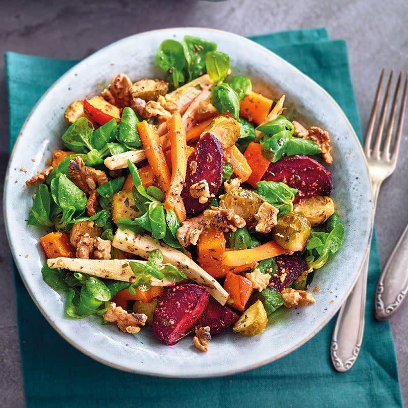 Photo de Salade hivernale aux noix prise par WW