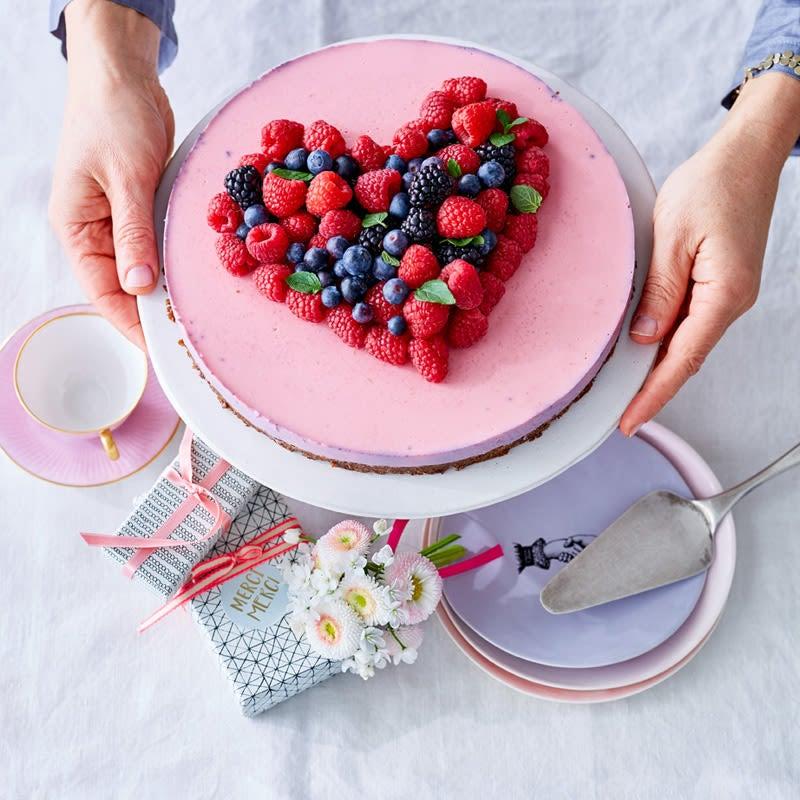 Photo de Tourte aux fruits rouges pour la fête des mères prise par WW