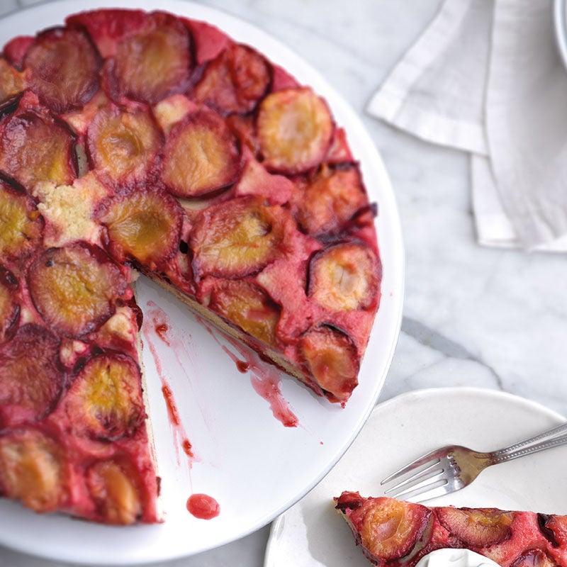 Photo de Gâteau renversé aux prunes prise par WW