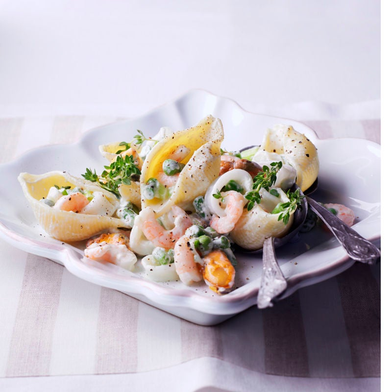 Photo de Conchiglioni aux fruits de mer prise par WW