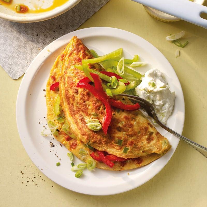 Photo de Omelette aux poivrons et au Chorizo prise par WW