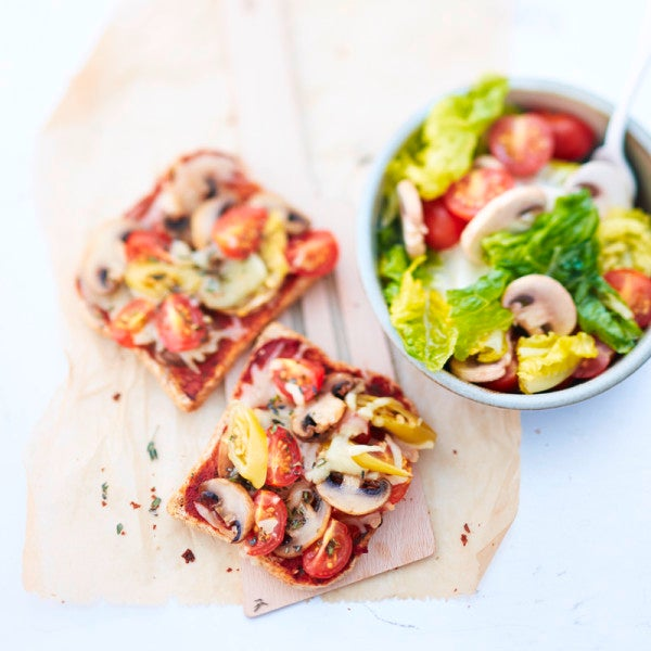 Photo de Pizza-toast-veggie prise par WW