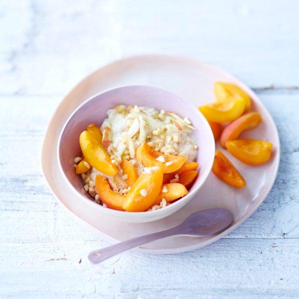 Foto Schnelles Aprikosen-Mandel-Porridge von WW