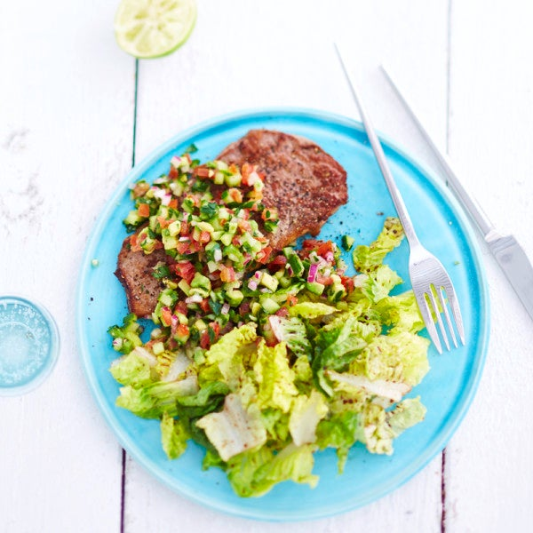 Photo de Steak de boeuf à la sauce avocat-citron vert prise par WW